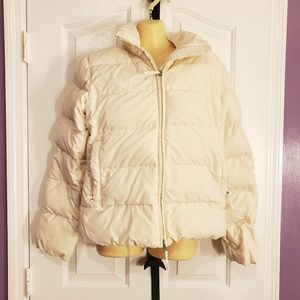 Banana Republic Winter Down Puffer Jacket Coat S